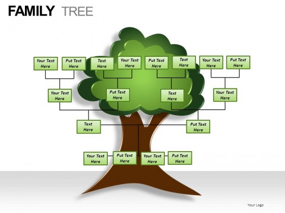 Family Tree Template For Powerpoint